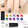 Saviland Mood changing UV Gel Chameleon Temperature Change Color Varnish Soak Off UV Gel Polish Long Lasting Thermo Nail Gel