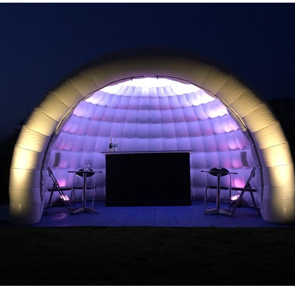 Inflatable bubble tent dome house inflatable coffee rest room Inflatable air dome for advertisement and show