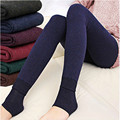 2016 New Arrival Winter Elasticity Fur Thick Leggings for Women Warm Colorful Heel-length Slim Sexy Boots Leggings Pants