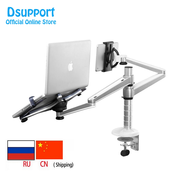 OA-9X Lazy Tablet Laptop Stand Soporte ajustable giratorio de altura ajustable para notebook dentro de 10-16 pulgadas y Tablet PC 7-10 pulgadas