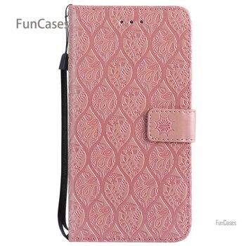 7c64a12cf Vid relieve Flip caso de la sFor Estojo iPhone 6 Plus bolsa de cuero de la  ...