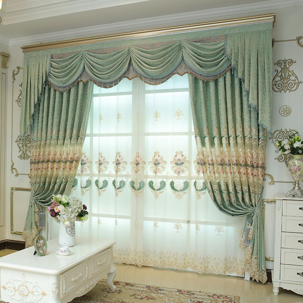Modern-Jacquard-Custom-Made-Embroidered-Flower-Curtains-Tulle-Window-For-living-Room-Bedroom-Curtains-Drapes