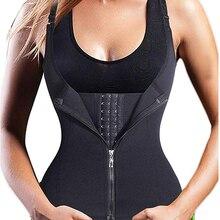 Posparto cinturón de cintura corsé adelgazante de Control doble cintura entrenador Sauna caliente fajas de correa ropa interior Mujer ropa interior