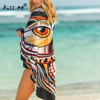 Beach Sexy Cover Ups For Women Beach Towel Beach Dress Swimsuit Bikini Cover Up Pareos Wrap For Women Free Size Floral Printed 1