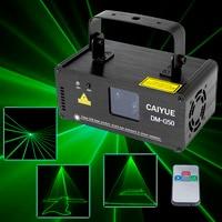 Remote control 50mw Green laser stage lighting effect DM 512 professional scanner laser light DJ disco ballroom club light