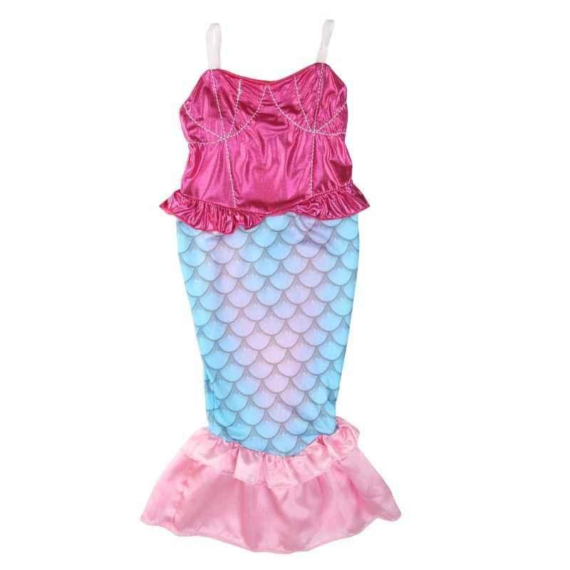 7437d7f157 2018 New Kids Girls Mermaid Tail Bikini Swimmable Swimsuit Swimming Costume  Fancy Dress 4-12Y