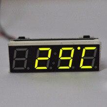 Прокат автомобильная календарь термометр жк-дисплей электронные горячий прочный автомобиль цифровой украшения