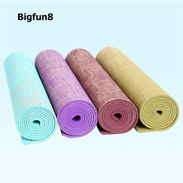 printed for sport padded special yoga design pvc gymnastics toxic mats fitness sports exercise item mat jeans non custom from unique thickness materials in
