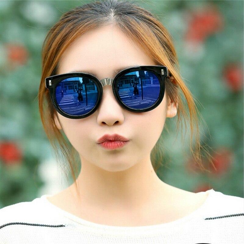 2017 NEW Retro Fashion male sunglasses women sun stone Anti glare Stylish font b Aluminum b