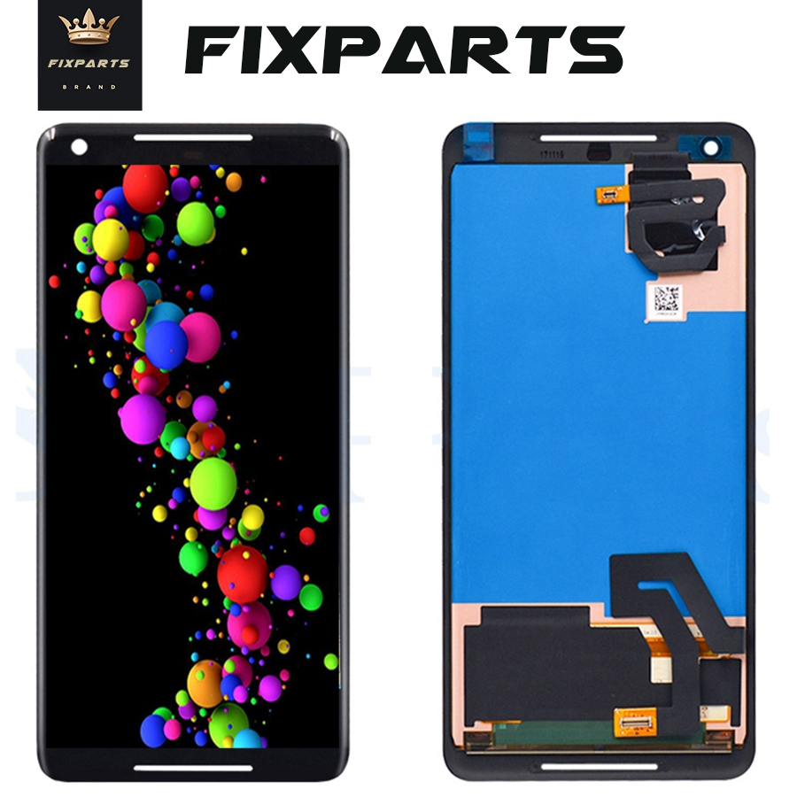 6.0 LCD Google Pixel 2 XL LCD Display Touch Screen Digitizer Assembly Replacement Pixel2 For 5.0 HTC Google Pixel 2 Display