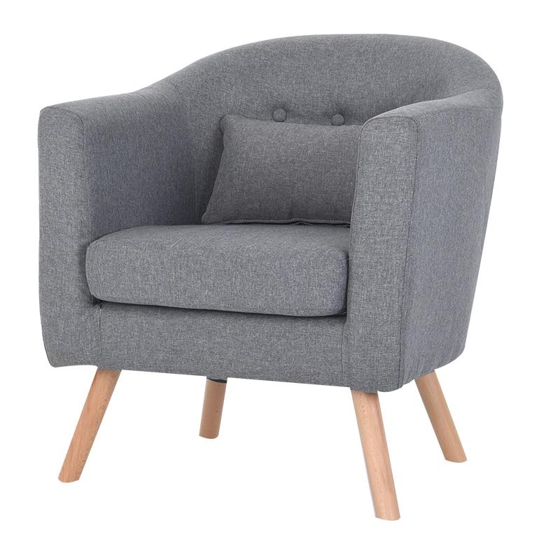 Modern Sofa 1 Single Seat Simple Design Living Room Furniture