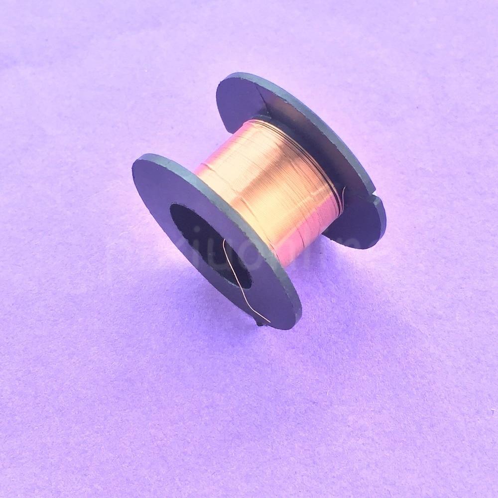 1 rolle J439Y 0,1mm Durchmesser Lackiert Draht Dünn Kupferdraht ...