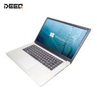 DEEQ 15,6 дюймов Intel 4 ядра процессор ГБ оперативная память 64 EMMCWindows 10 системы 1920*1080 P ips экран нетбук ноутбук компьютер