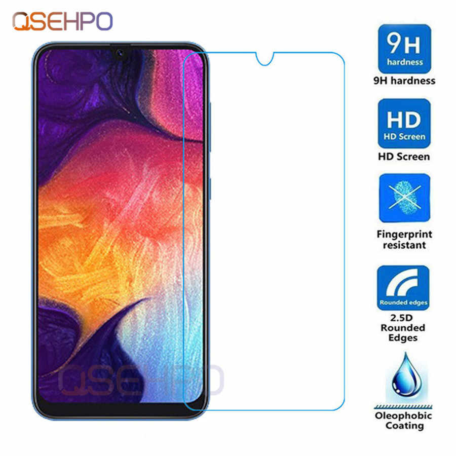 Tempered Glass For Samsung M10 M20 M30 A10 A30 A50 Screen Protector half For Samsung Galaxy A7 A8 A9 A6 J6 Plus 2018 Glass cover