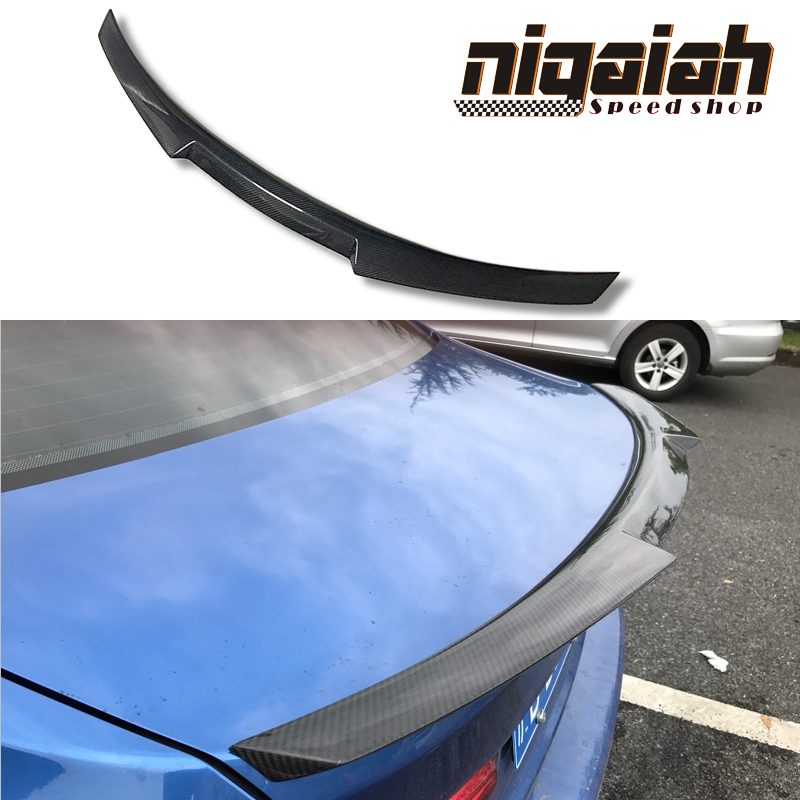 For BMW M4 Coupe F82 M4 Car Spoiler Carbon Fiber M