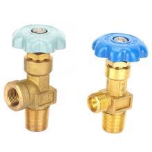 Válvula de ajuste de Gas de argón/oxígeno de baja presión de 2 tipos, válvula de seguridad reguladora de cilindro de argón de rosca BSP