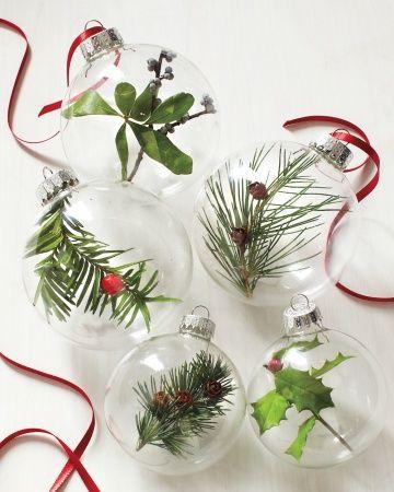 2 Dia15cm De Vidrio Claro Bolas De Navidad De Vidrio Transparente - Bolas-de-navidad-transparentes