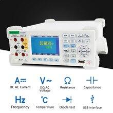 цена на ET3240 Digital Multimeter ET3255 Lcd Color Capacitance Resistance Frequency Measuring Desktop Instrument DCV ACV DCI ACI ET3260