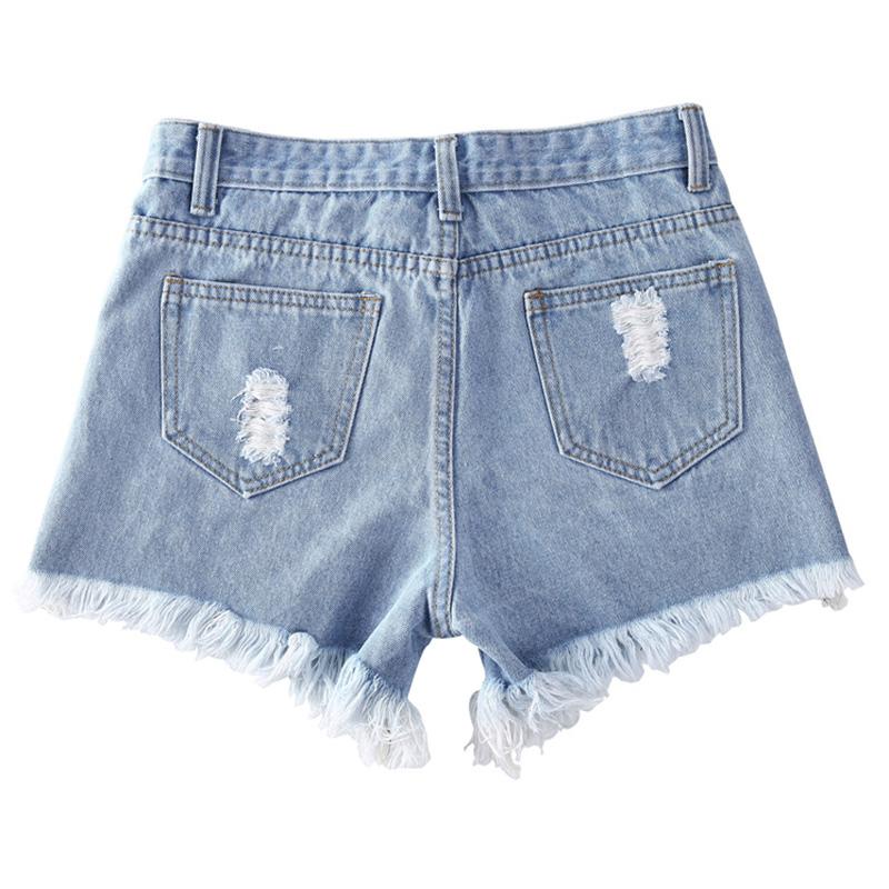 HTB1iiq0QFXXXXbuaXXXq6xXFXXX5 - Floral embroidery denim shorts Women PTC 165