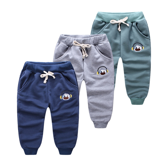 9a174fb1b Children candy color fashion cotton leisure baby boys girls joggers ...