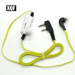 XQF Хит продаж динамик для Baofeng UV-5R 888 S b5 b6 двухстороннее радио для рации Kenwood