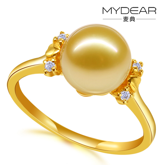 MYDEAR Latest Gold Ring Designs For Girls Saudi Arabia Gold Wedding