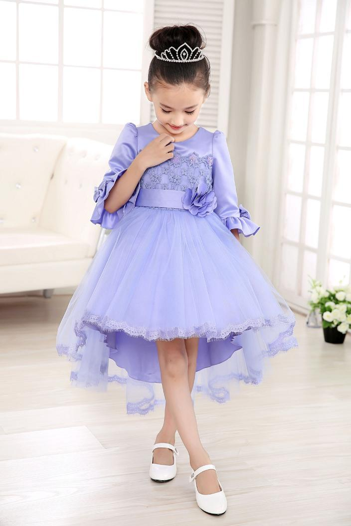 High Quality Girl Dresses Princess Children Clothing party dance dress  Costume Kid's Party Dress Baby Girls Clothes high quality girls baby hollow out bud silk condole belt dress princess party dresses children s clothing wholesale