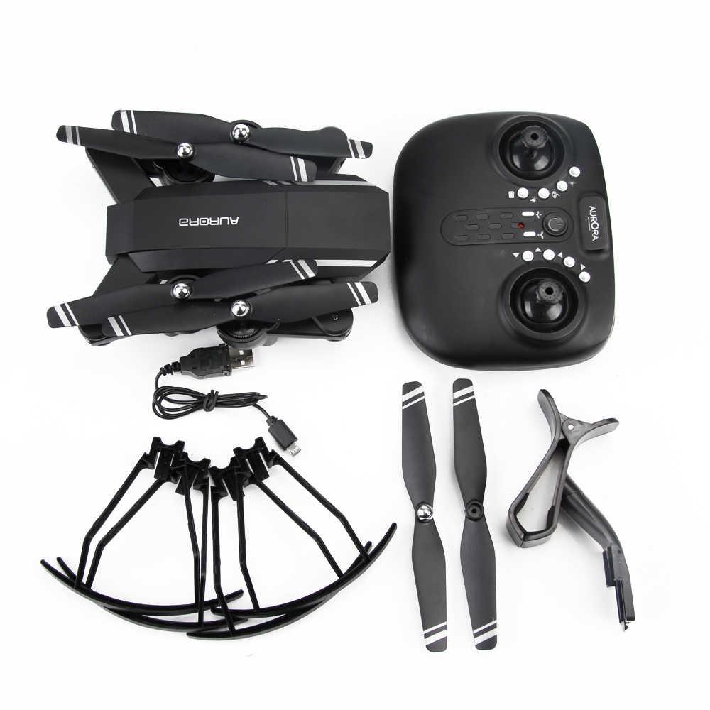 3 батареи Wi-Fi FPV RC Дрон с широкоугольным HD 720 P камера с высоким режимом удержания складной рычаг RC Квадрокоптер Вертолет Подарки для мальчиков