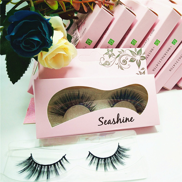 3d Mink Lashes 5 Pairs Package Sale Natural Makeup Eye Lash Eyelash