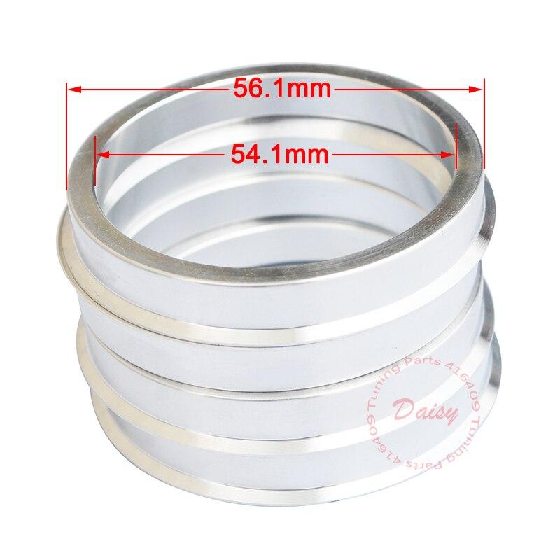 4 anillas de centrado 56,1 mm 54,1 mm
