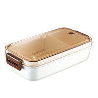Japan style plastic lunch box microwave oven heating bento boxes creative student food containter