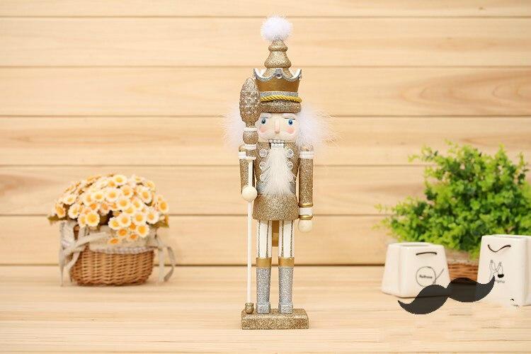 42 cm casse-noisette marionnette bois artisanat 35 cm décoration en bois Vintage décor à la maison décoration de noël - 5
