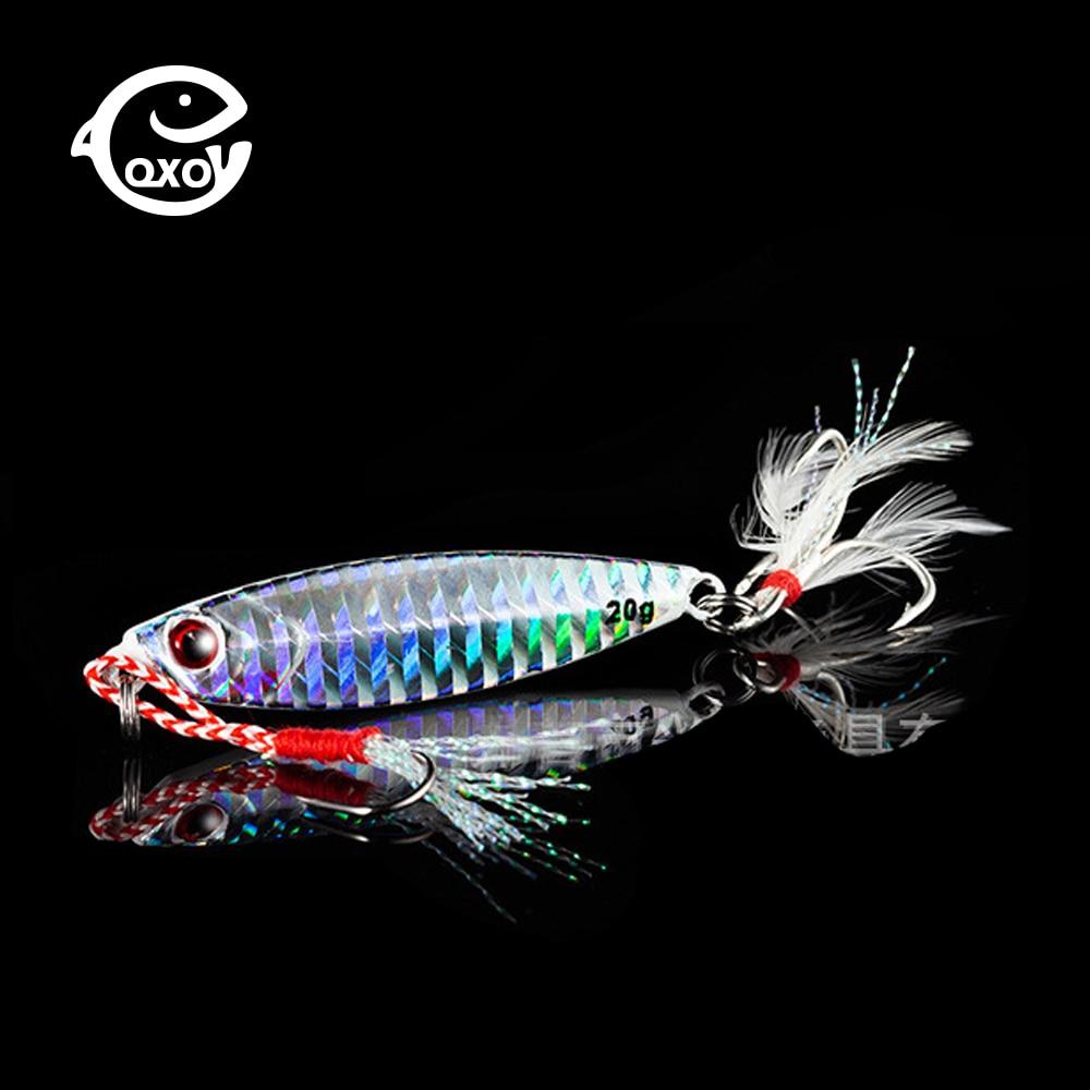 Jig Fishing Lure 10 20 30g Light Silicone Bait Wobbler Spinner Spoon Bait Winter