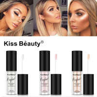 Kiss Beauty Illuminator Contouring Makeup Liquid Highlighter Face Brightener Concealer Primer Bronzer Face Glow Kit Cosmetics