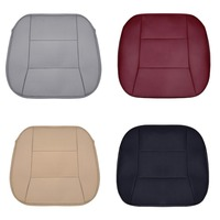 Areyourshop Car 3D Universal Car Front Seat Cover Breathable PU Leather Pad Mat Chair Cushion Car accessories