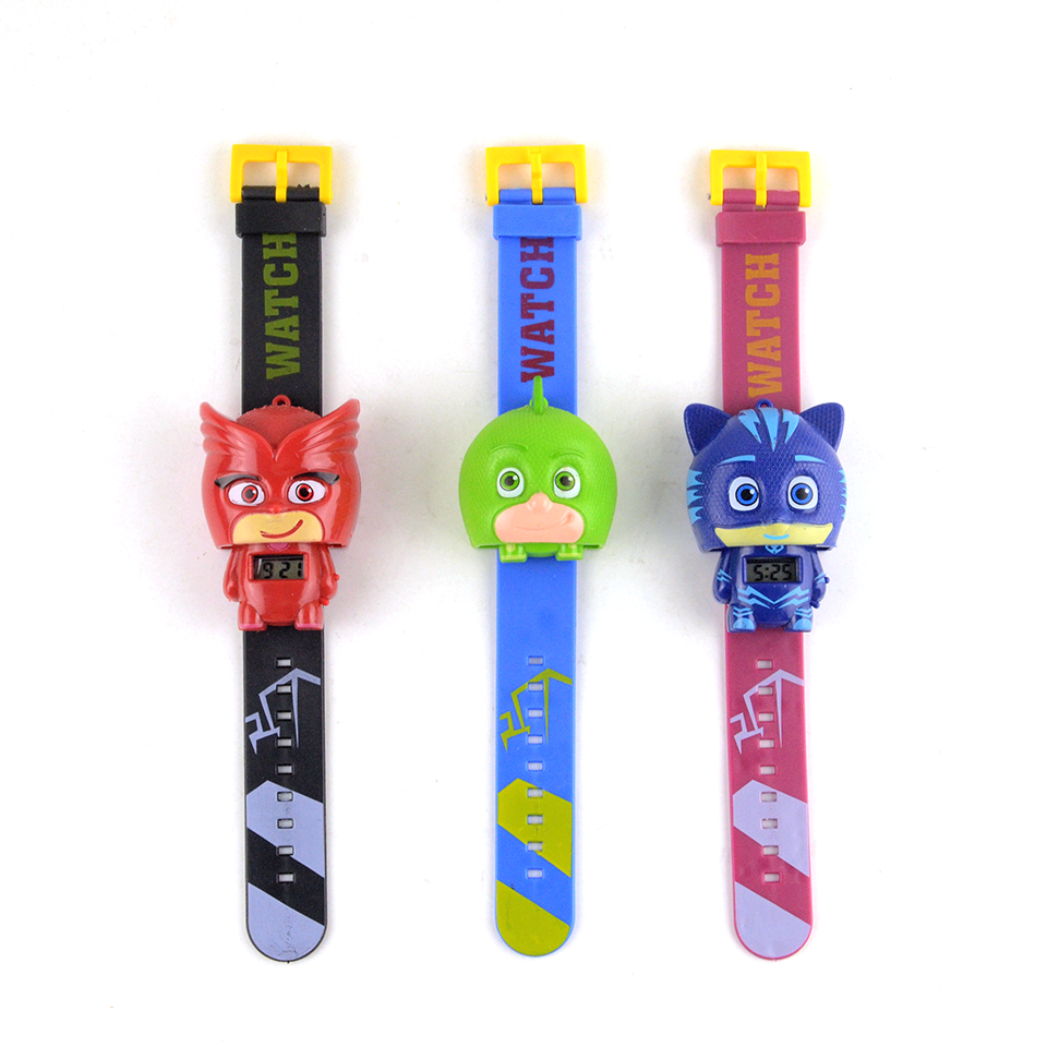 Hot Anime Figures pj Figures mask Watch Character Catboy Owlette pjmask Action Figures Toys Boy Birthday Gift Cosplay Party Show