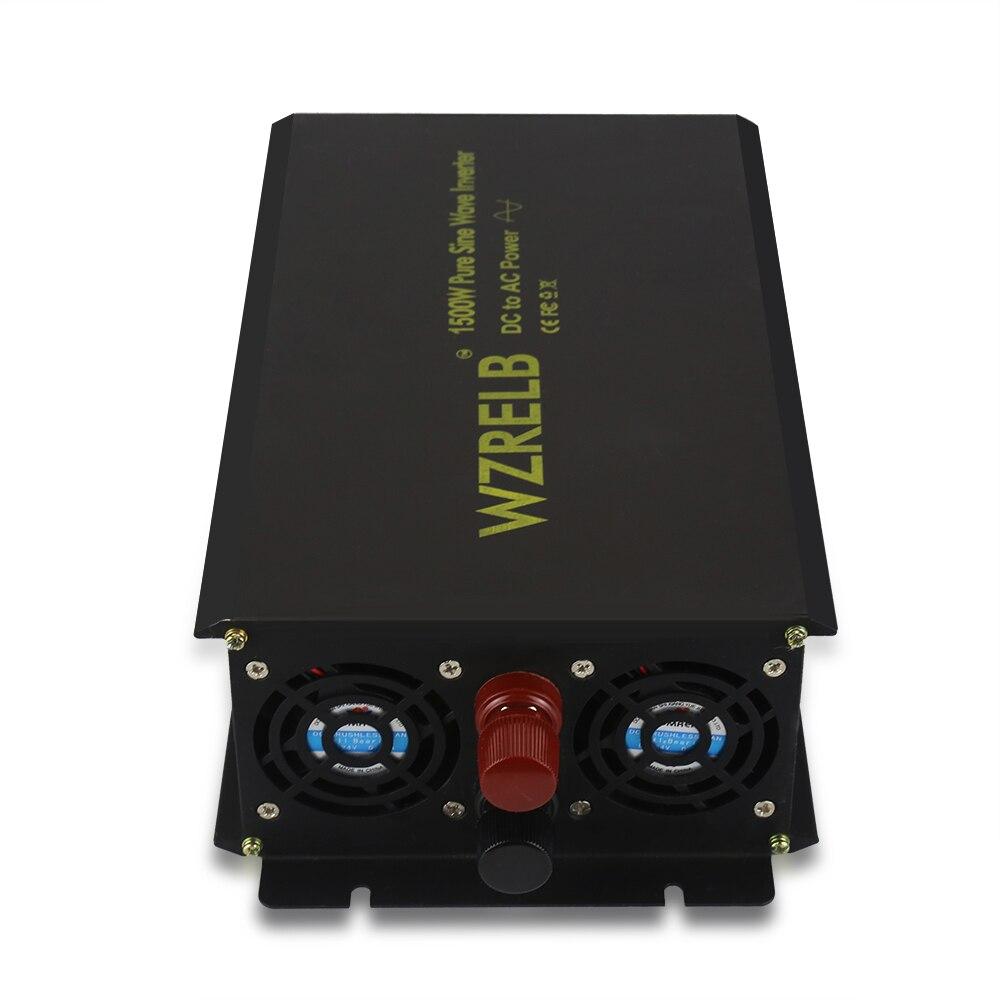 Reine Sinus Welle Power Inverter 1500 W 12 V 230 V Solar Panel Inverter Generator DC zu AC Konverter 12 v/24 V/36 V/48 V zu 120 V/220 V/240 V