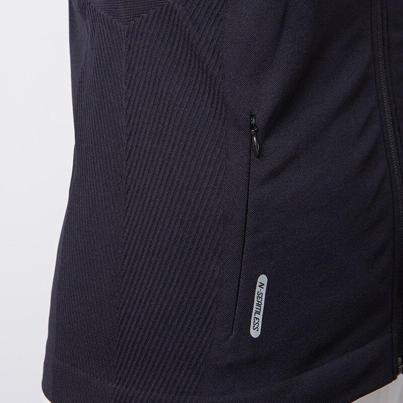 Besgo Sport Jacket Women Running Stand Collar Zipper Up Long Sleeve Yoga T-shirt Windproof cuff Professional Workout Sportswear