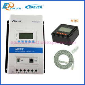 Image 4 - EPever TRIRON 4210N 4215N 40A 12v 24v Solar Charge Controller LCD Modular Solar Regulator Charger 40amp with MT50 eBox WIFI BLE