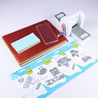 Die Cutting Embossing Machine Scrapbooking Cutter Piece Die Cut Paper Cutter DIY Tools with Cutting Dies Card & EVA Sheet Set