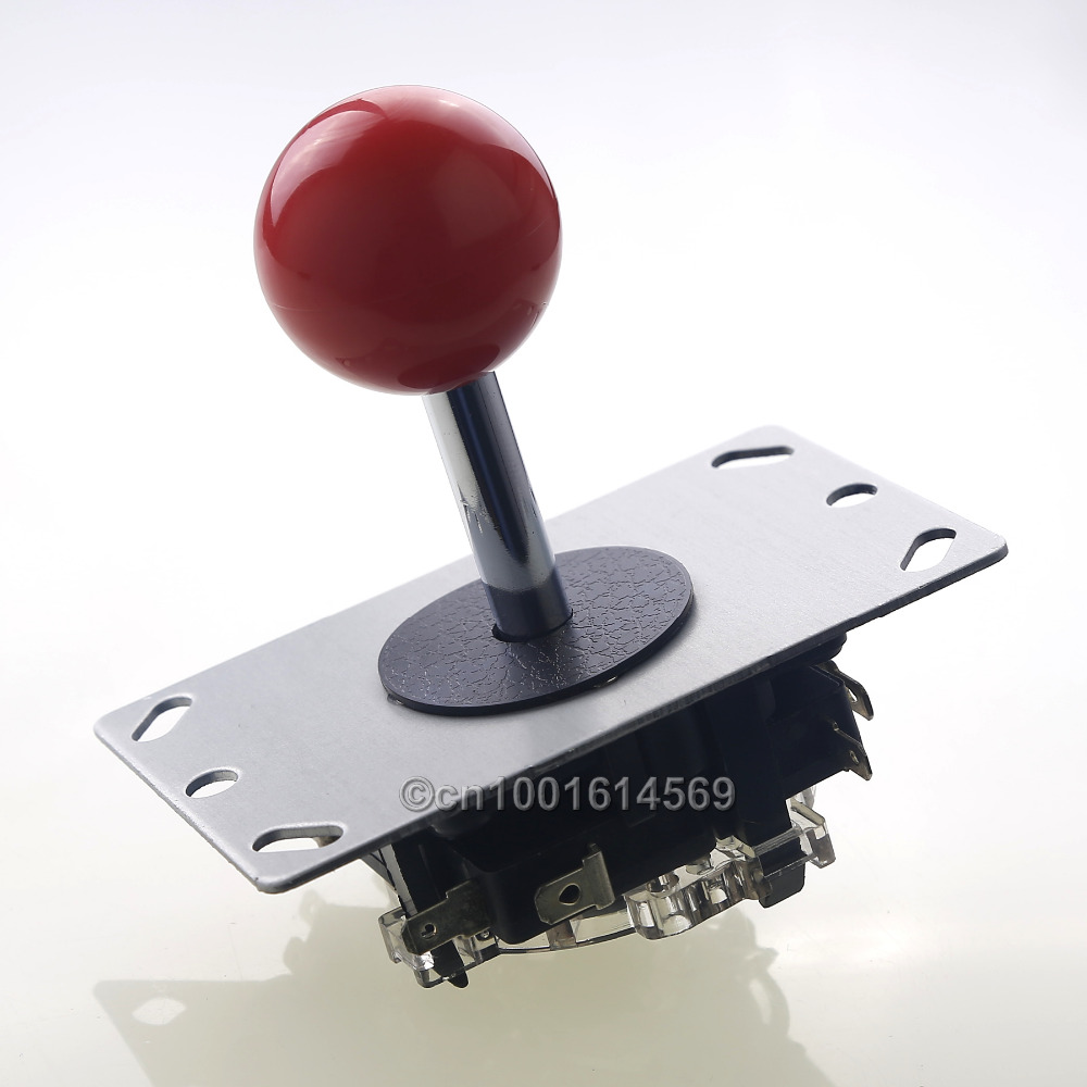Free Shipping Reyann 8 Way Arcade Joystick 4 X Happ Style Switch Button With Microswitch For Sticks Usb Connector Red In Coin Operated Games From Sports