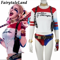 Harley Quinn costume adult Harley Quinn Suicide Squad cosplay costume Batman joker cosplay Sexy costume