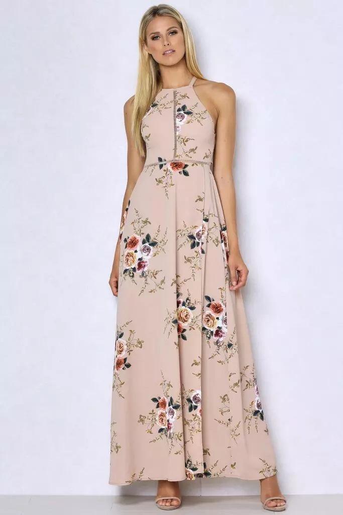 HTB1iitaPVXXXXXSXVXXq6xXFXXXH - Women Long Sleeveless Floral Maxi Dresses JKP075