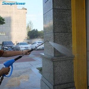 """Image 5 - Sooprinse Автомойка 7 Размеры высокое Давление шайба устройство для чистки желоба крепления для Ланс/палочка 1/4 """"Quick Connect латунный нержавеющий"""