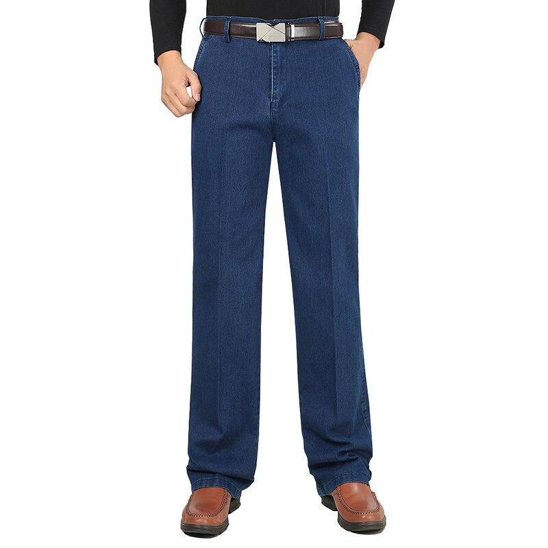 2018 New Stretch Slim Fit Men's   Jeans   Designer High Quality Classic Denim Pants Summer Baggy   Jeans   Men Fashion Elasticity WFY12