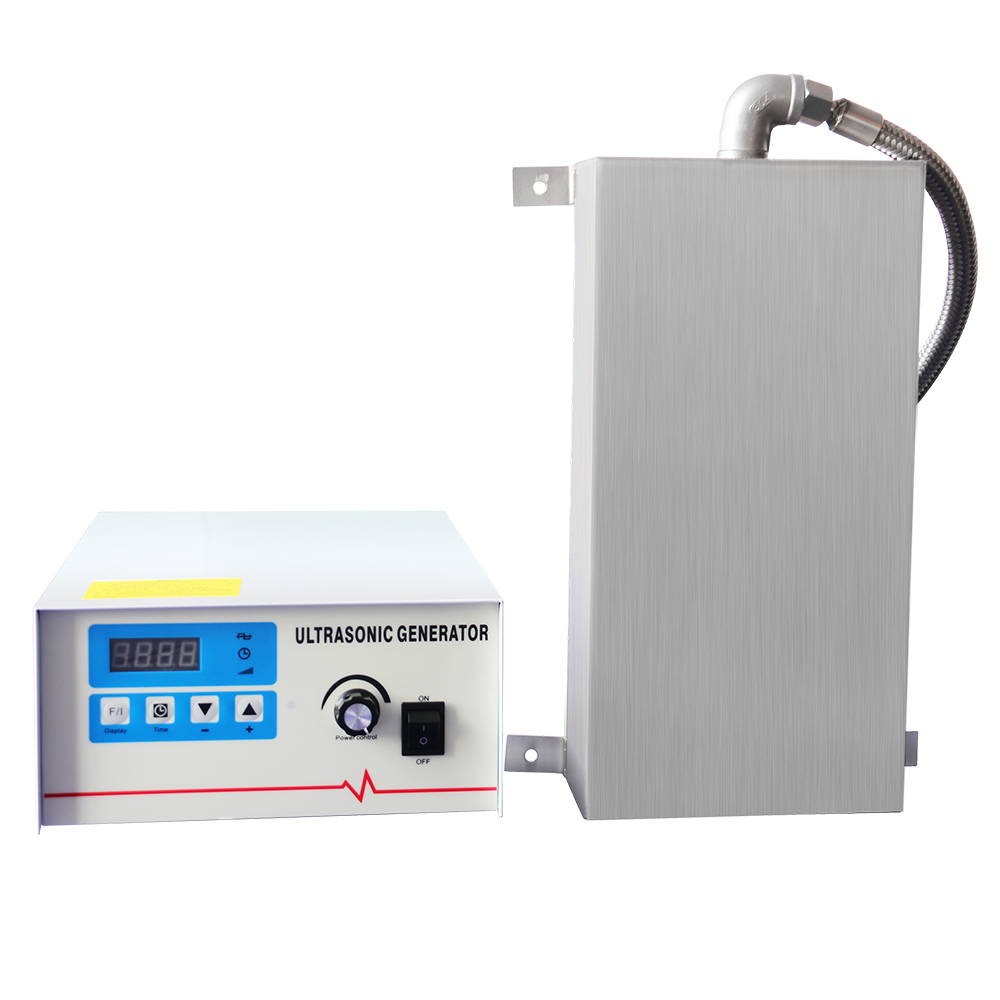 Industrial Ultrasonic Cleaner 2400W Immersion Vibration Generator Power Adjustment Mainboard Metal Parts Oil Rust Degreasing