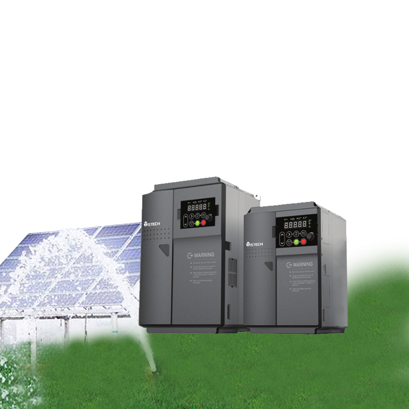 ISTECH Solar Water Pump Inverter DC/AC VFD Controller IST201-T5.5GB 5.5KW 3 PH/ Three Phase 380V Output for PV Pumping System decen 2200w pv pump 3700w solar pump inverter for solar pump system adapting water head 79 51m daily water supply 20 40m3