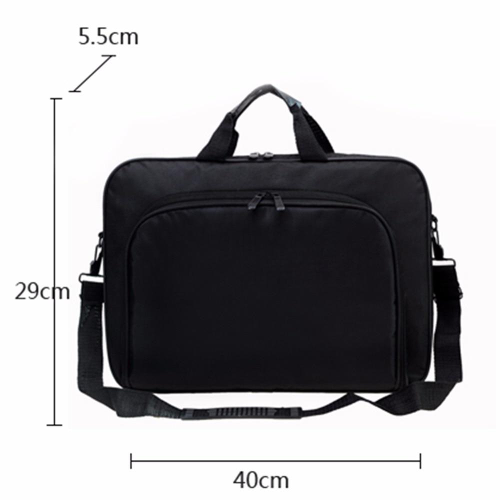 VODOOL Laptop Bag Computer Bag Business Portable Nylon Computer Handbags Zipper Shoulder Laptop Shoulder Handbag High Quality-in Laptop Bags & Cases from Computer & Office