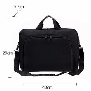 Image 1 - VODOOL Laptop Bag Computer Bag Business Portable Nylon Computer Handbags Zipper Shoulder Laptop Shoulder Handbag High Quality