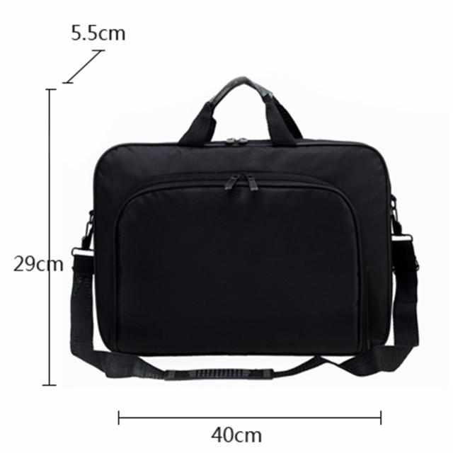 VODOOL Laptop Bag Computer Bag Business Portable Nylon Computer Handbags Zipper Shoulder Laptop Shoulder Handbag High Quality